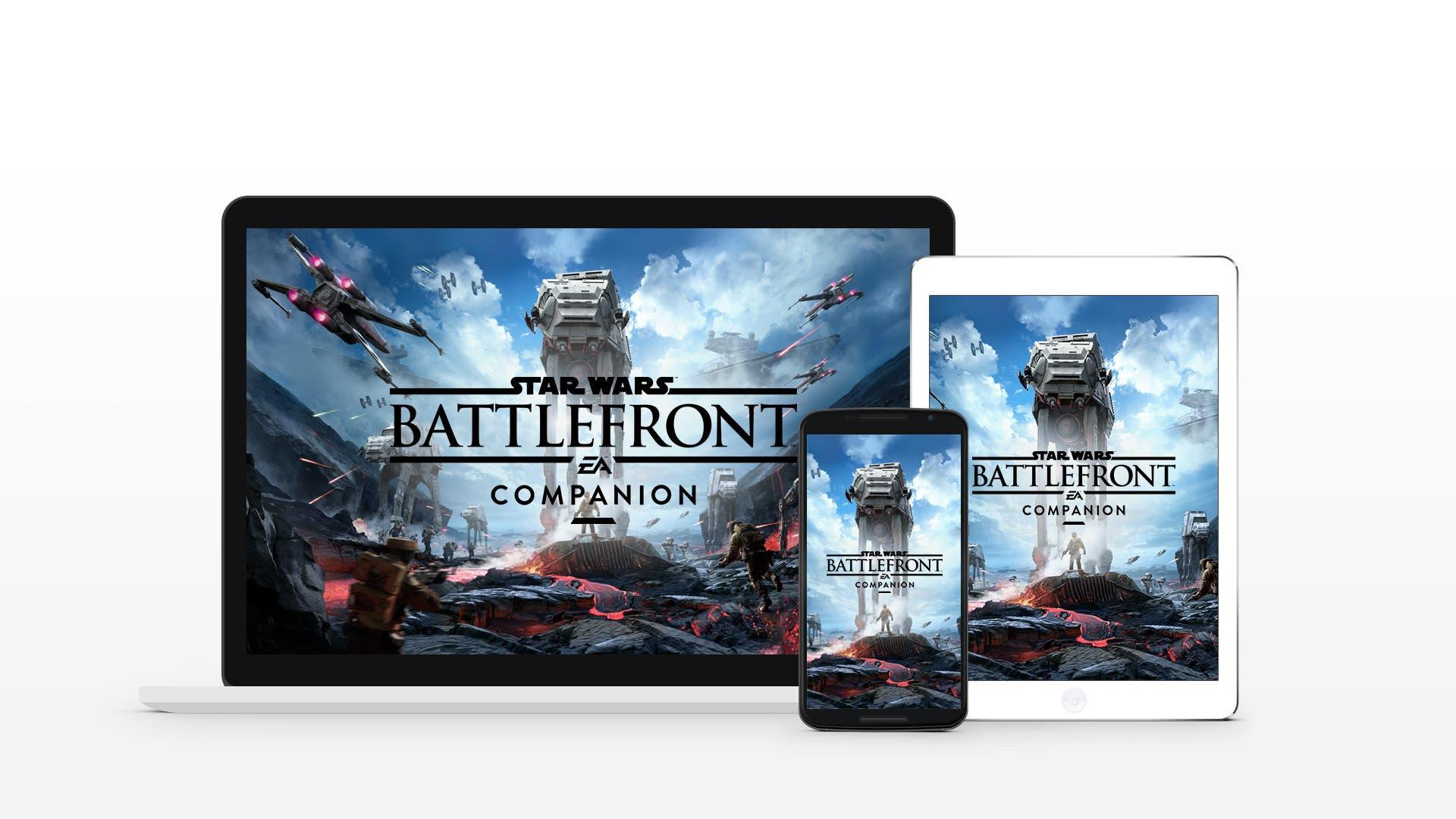 Star Wars Battlefront contará con una aplicación gratuita para dispositivos móviles 1