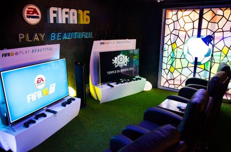 El templo de EA Sport abre sus puertas a los fans, juega a FIFA 16 en el mejor ambiente 1