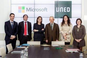 La UNED y Microsoft colaboran a través del Proyecto Europeo ECO 7