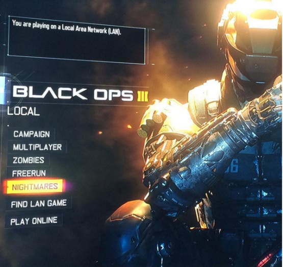 Modo Pesadilla Call of Duty: Black Ops 3