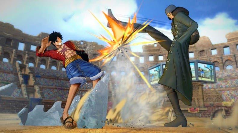 One Piece Burning Blood muestra su jugabilidad en un nuevo vídeo 1