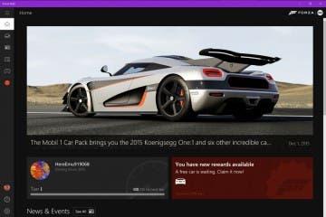 Ya disponible la app Forza Hub en Windows 10 12