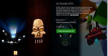 El GG Bundle 2015 ya está disponible en Xbox One 1