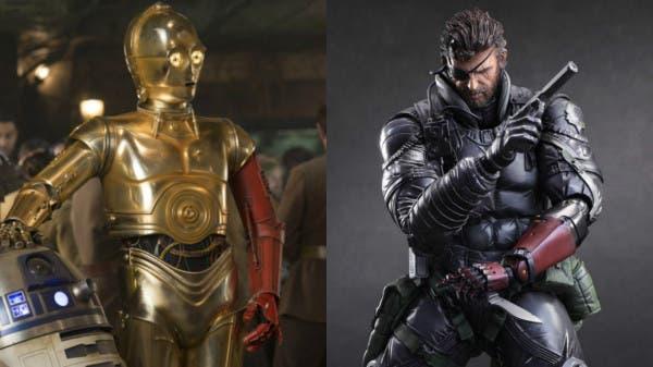 Star Wars guiño Metal Gear Solid V