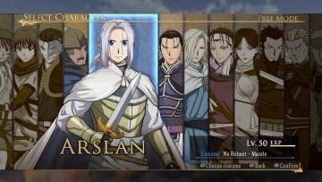 Nuevas imágenes de Arslan: The Warriors of Legend 4