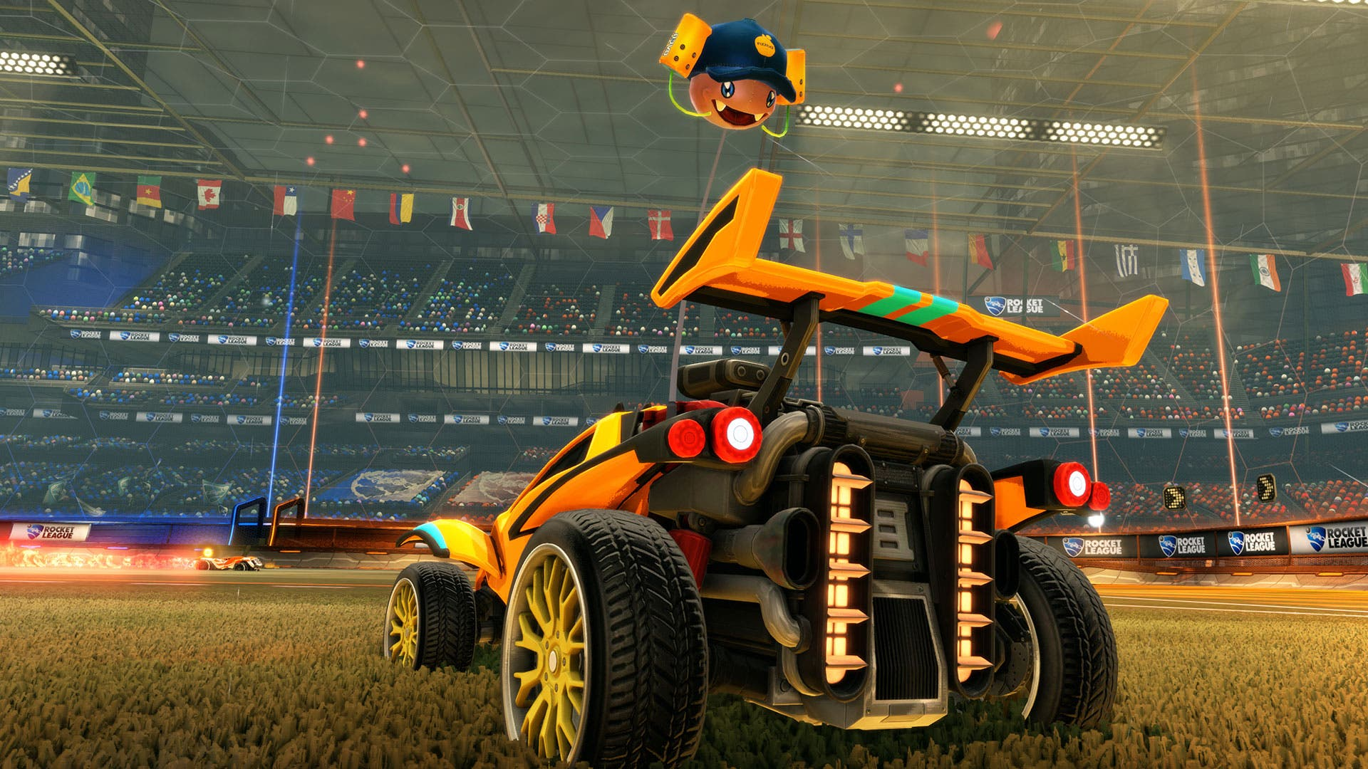Rocket League Sunset Overdrive (2)