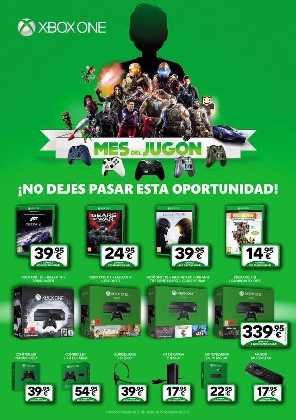 Ofertas de GAME por el Mes del Jugón Xbox