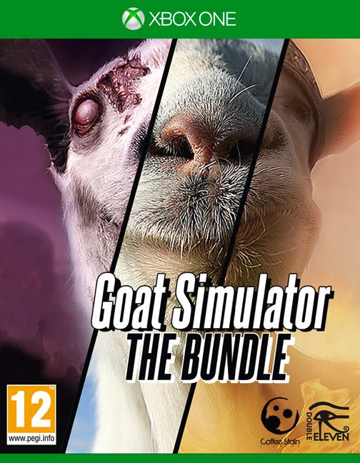 Goat Simulator The Bundle Xbox One caratula