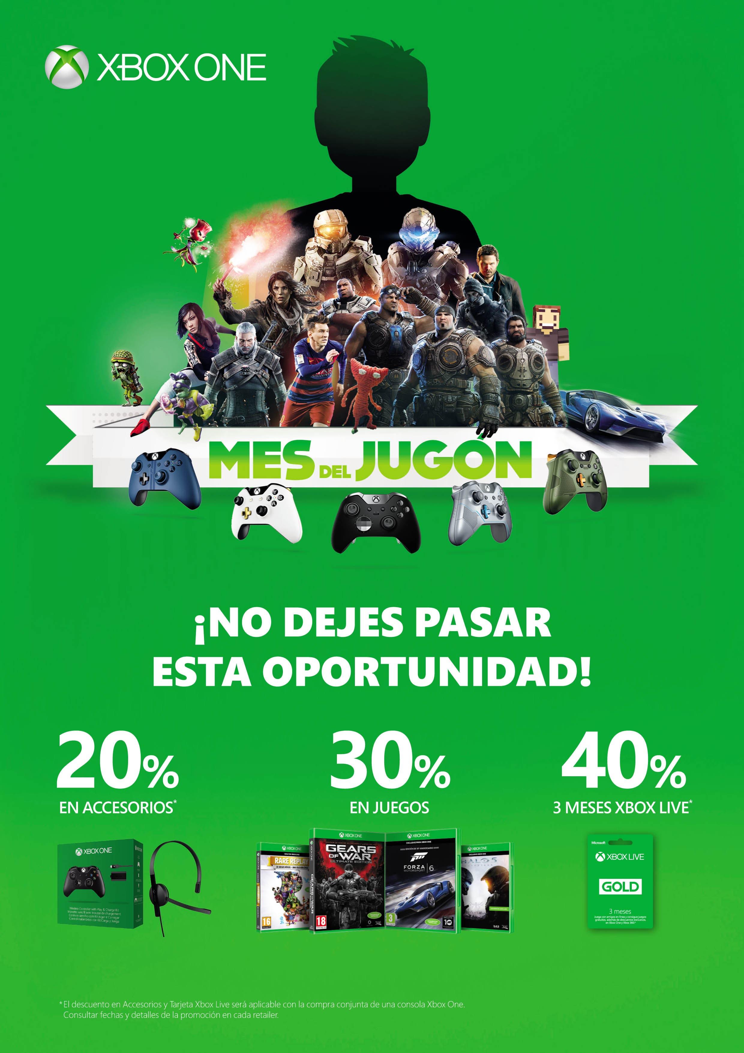 Mes del Jugón Xbox One