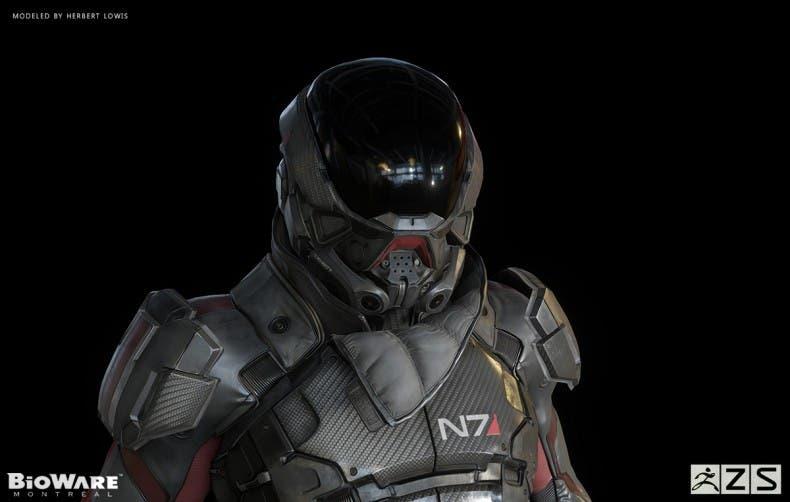 Filtradas imágenes del nuevo protagonista de Mass Effect Andromeda 1