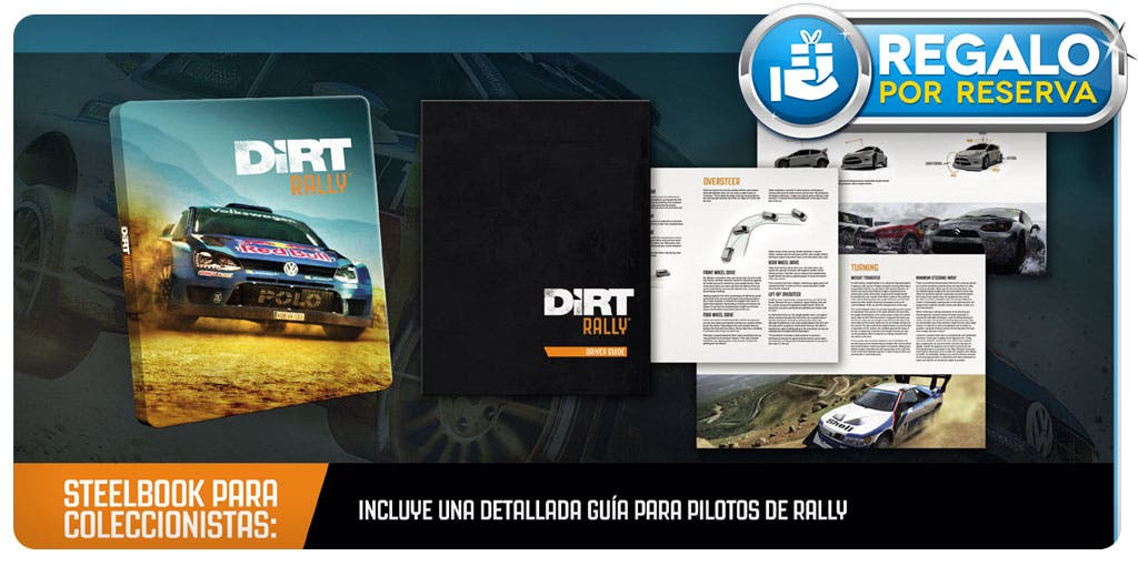 Reserva Dirt Rally en GAME