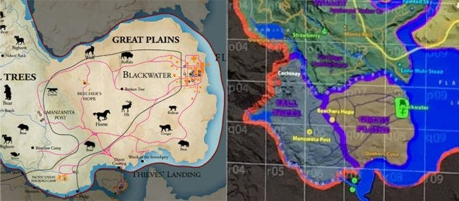 Red Dead maps side by side-650-80