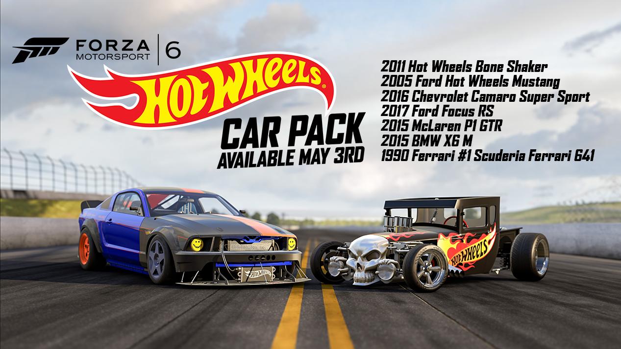 Hot Wheels Pack Forza Horizon  Cars