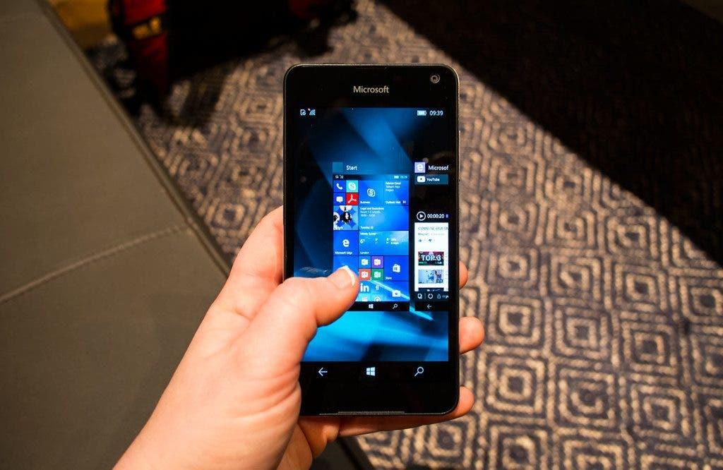 Lumia 650 rendimiento
