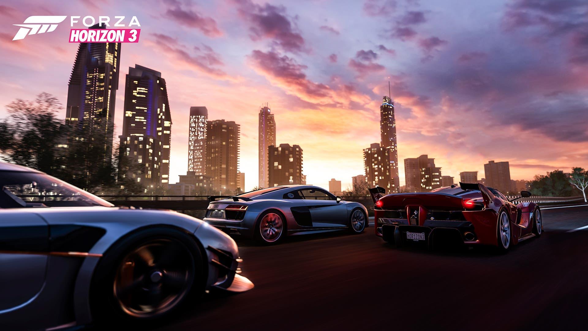 Forza-Horizon-3-CitySkyline-Koeg-Audi-Ferrari