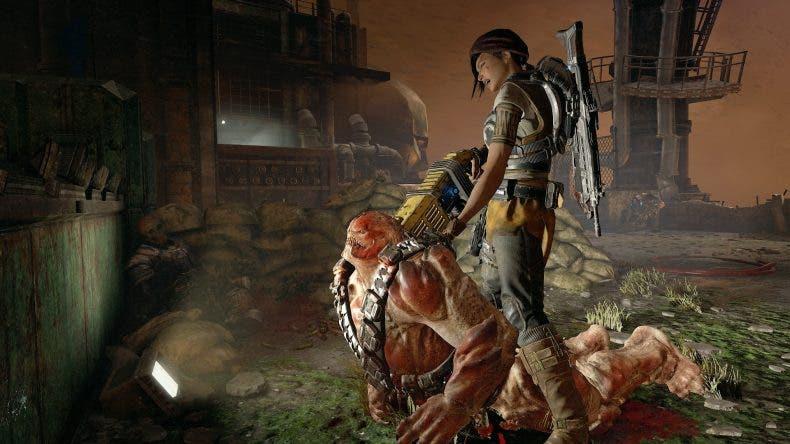 Espectacular gameplay de Gears of War 4 en resolución 4K 1