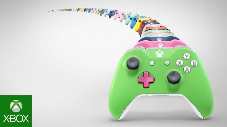 ¿Quieres un mando personalizado? Xbox Design Lab llegará a España este verano 1