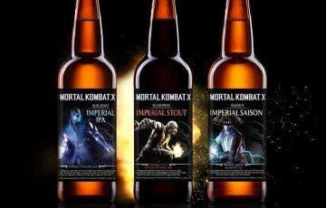 Warner Bros. anuncia las cervezas oficiales de Mortal Kombat X 2