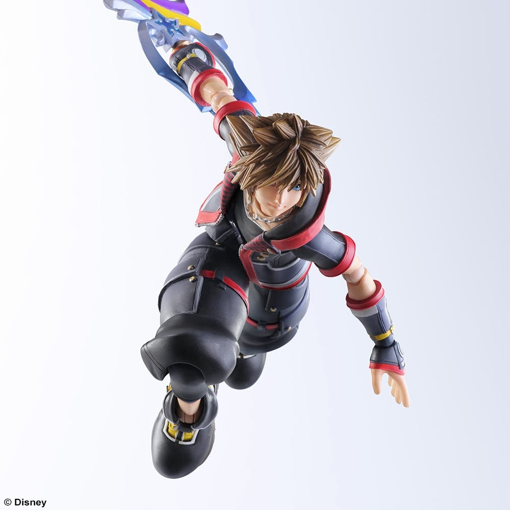 Sora Kingdom Hearts Image 745376: Espectacular Figura De Sora De Kingdom Hearts 3