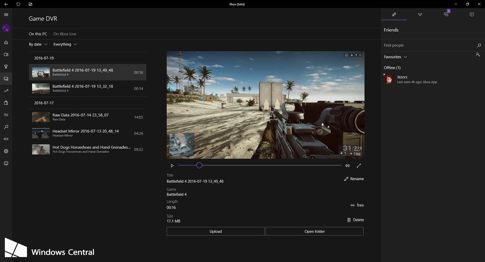 how to download xbox live clips