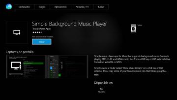 Tutorial: música de fondo en Xbox One mediante pen drive 3
