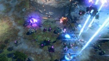 Una partida multijugador entera de Halo Wars 2 para 6 jugadores 4