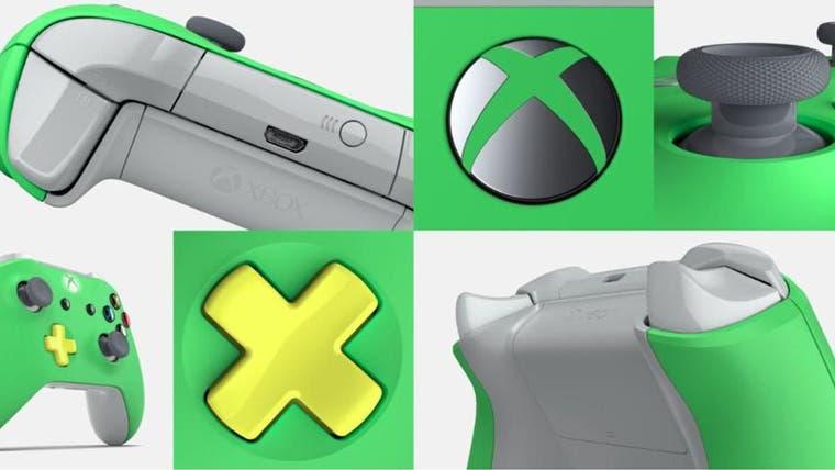 Los mandos de SomosXbox con Xbox Design Lab 1