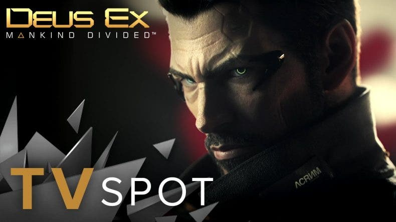Trailer para TV de Deus Ex: Mankind Divided