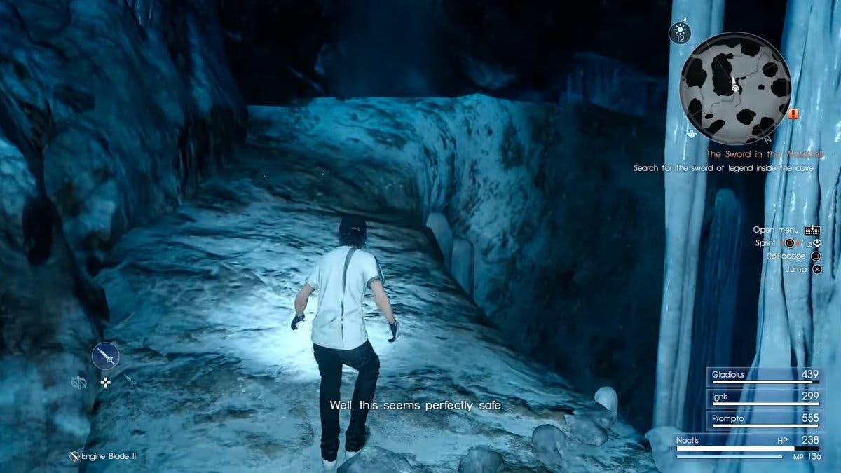 final fantasy xv cueva