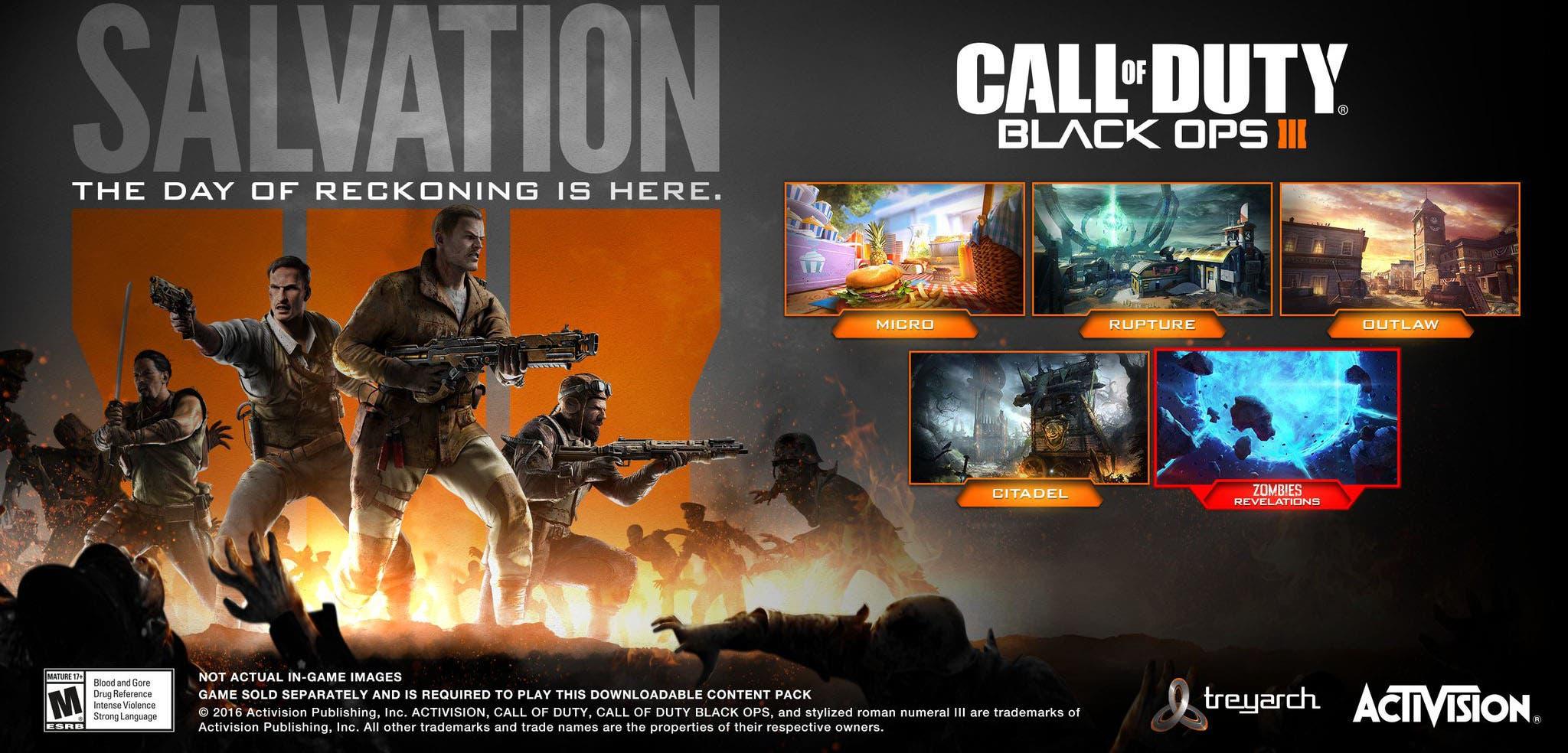 último DLC de Call of Duty: Black Ops III