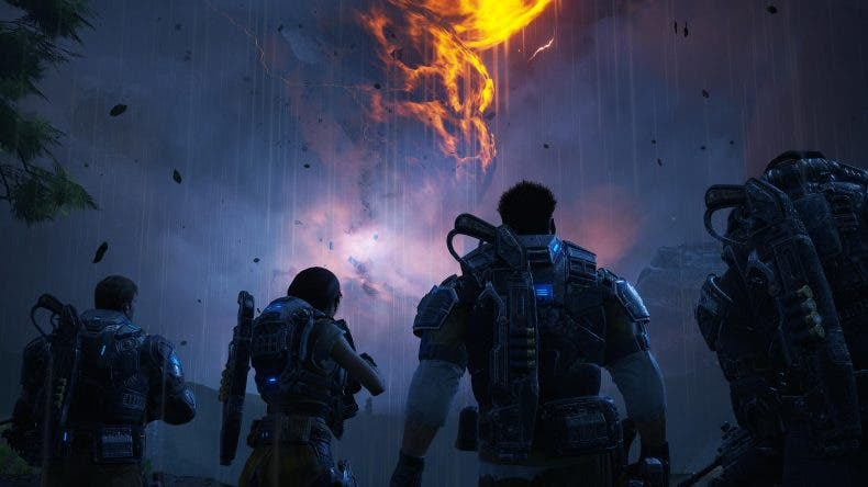 Comparativa de Gears of War 4: E3 2015 vs versión final 1