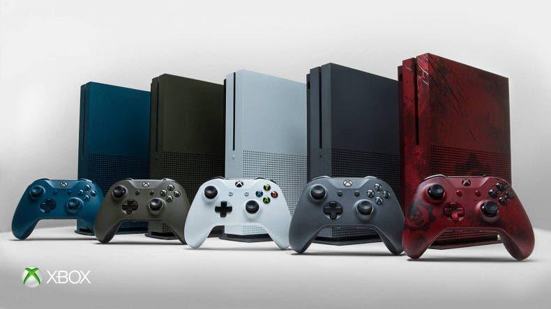 Xbox One S, nuevos mod...