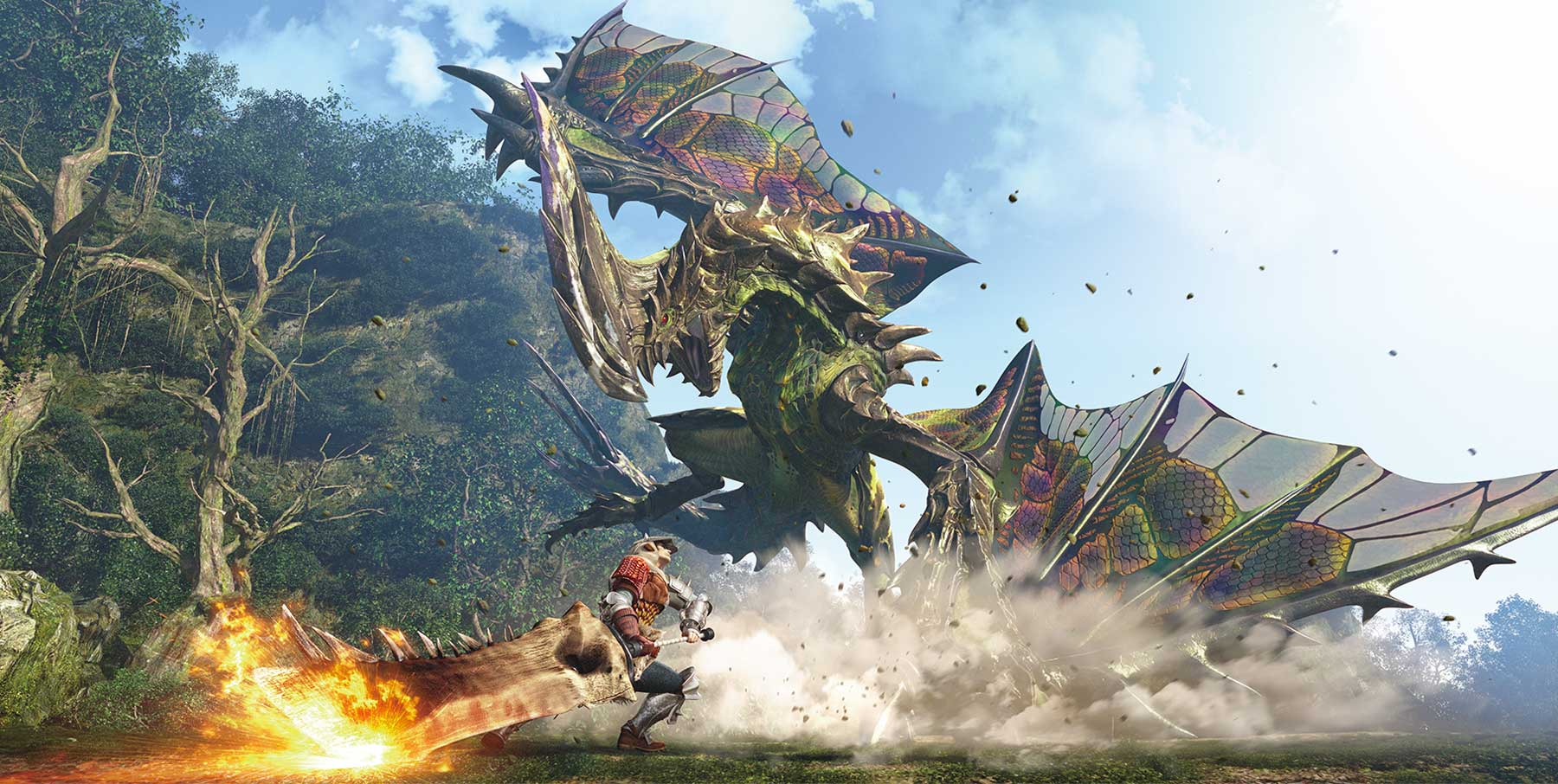 Nuevo Trailer de Monster Hunter World