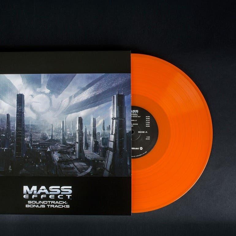 Espectacular reedición en vinilo de la banda sonora de la trilogía de Mass Effect 1
