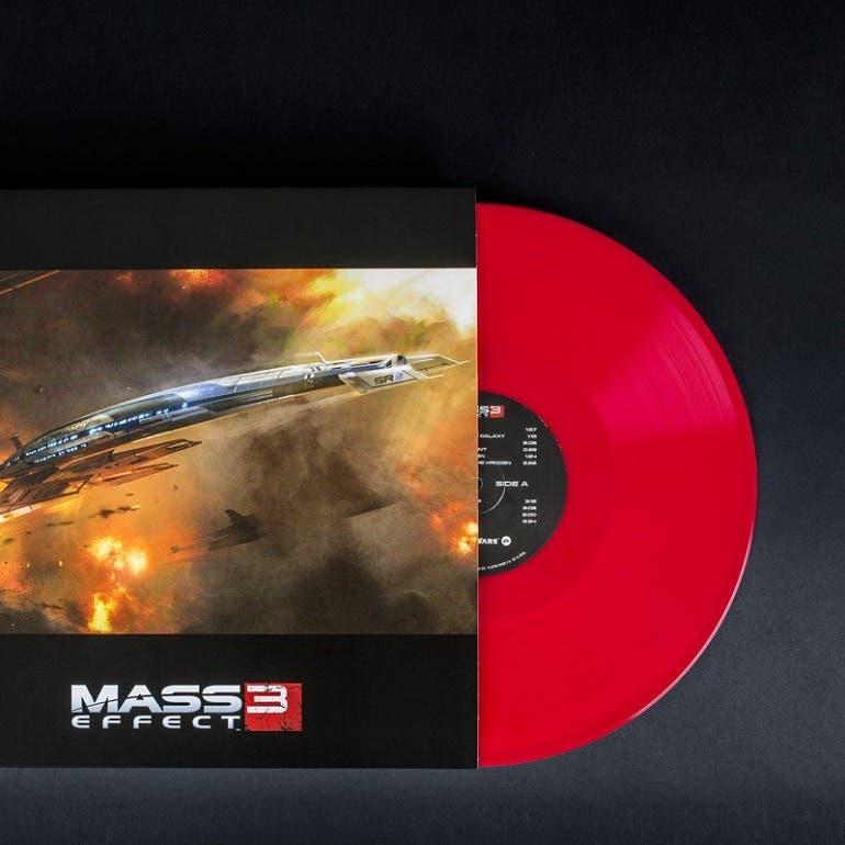Espectacular reedición en vinilo de la banda sonora de la trilogía de Mass Effect 3