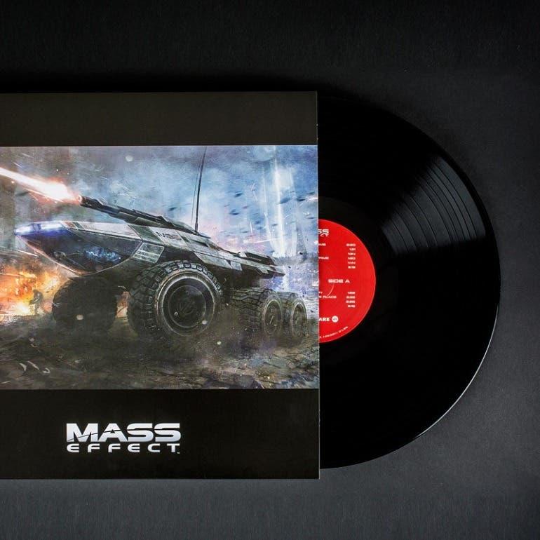 Espectacular reedición en vinilo de la banda sonora de la trilogía de Mass Effect 2