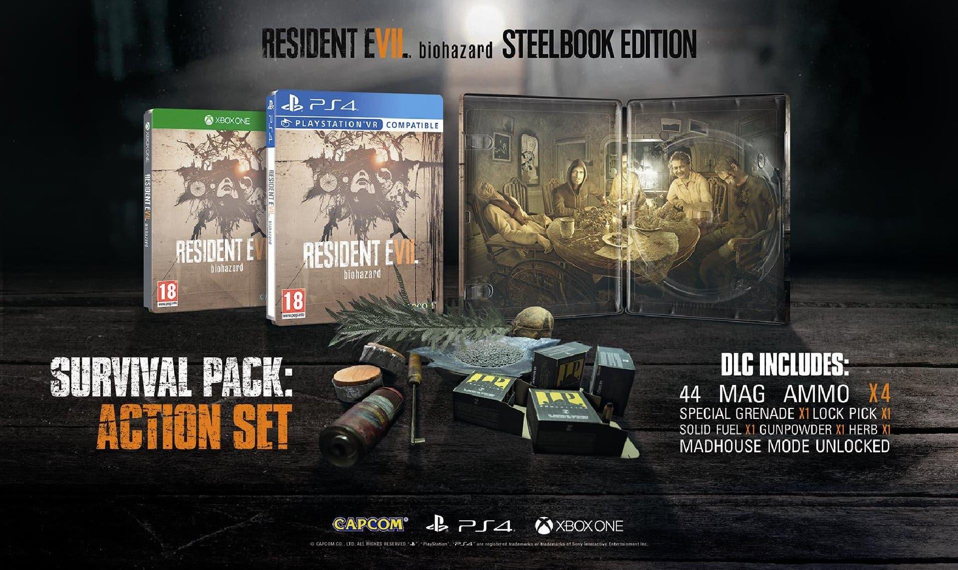 Steelbook Edition Resident Evil 7