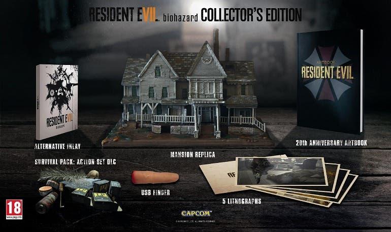 Edicion Coleccionista Resident Evil 7