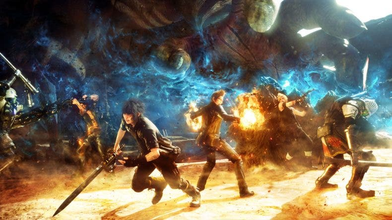Echa un vistazo a como luce Final Fantasy XV en Xbox One X 1