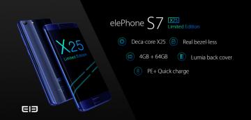 Elephone S7 X25 Edición Limitada, potencia y diseño al mejor precio. ¡Cupones descuento de regalo! 3