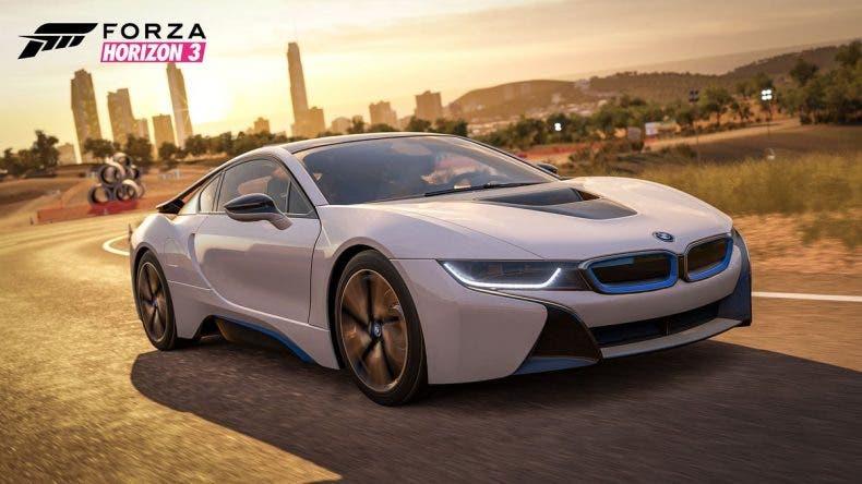 El flamante BMW i8 llegará en enero a Forza Horizon 3 1
