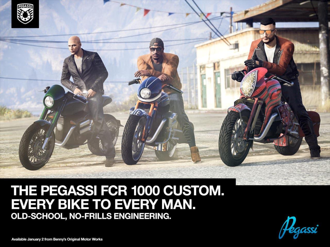 Nuevo modo de juego, doble XP y más para llegar a Grand Theft Auto Online 2