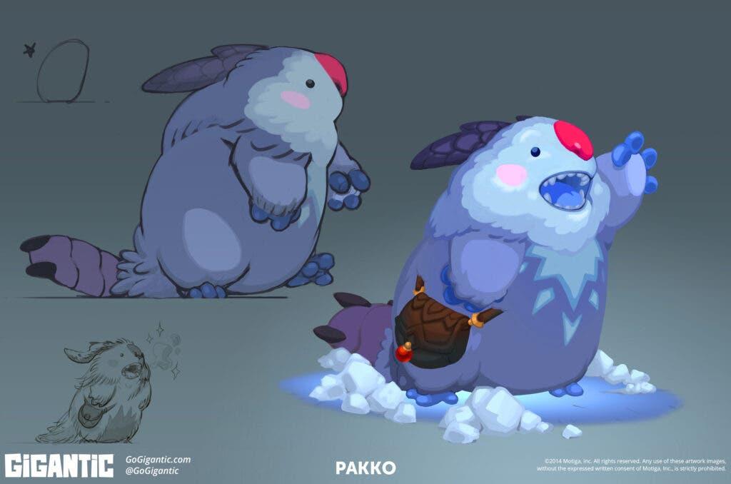 Conoce a Pakko, el nuevo personaje de Gigantic 2