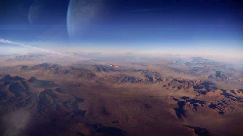 Primera comparativa de Mass Effect: Andromeda tras confirmarse oficialmente su actualización para Xbox One X 1