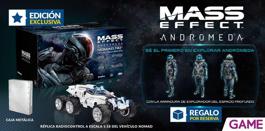 Mass Effect Andromeda: así es la Edición Nomad RC exclusiva de GAME 2