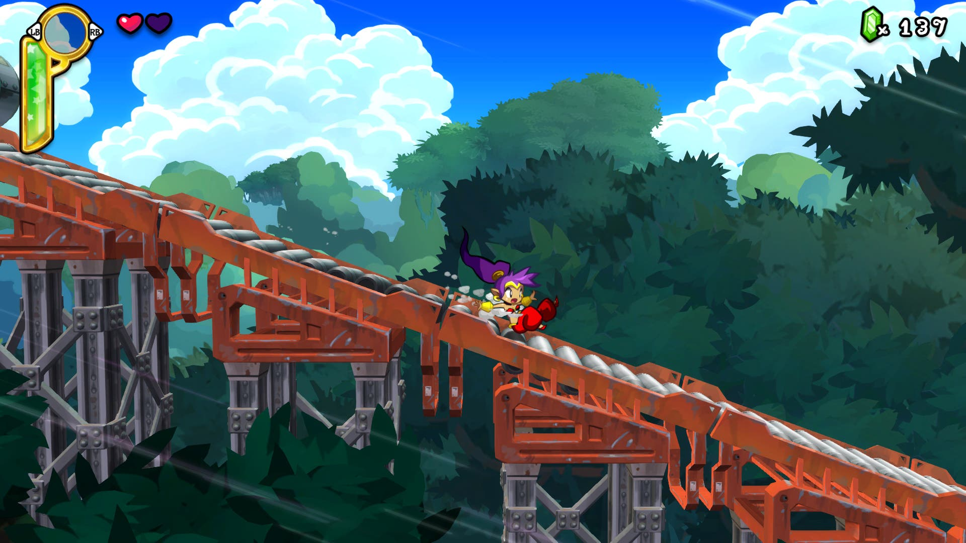 Análisis de Shantae Half-Genie Hero 1