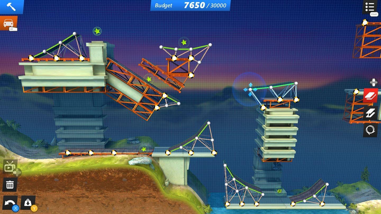 Análisis de Bridge Constructor Stunts 3