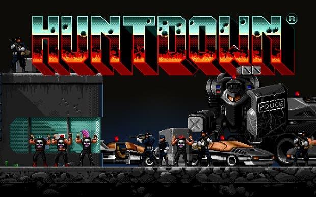 Huntdown llega en mayo a Xbox One, shooter retro-futurista de estilo arcade