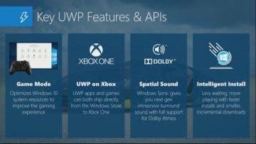 Microsoft confirma el soporte para Xbox One para juegos desarrollados con UWP 10