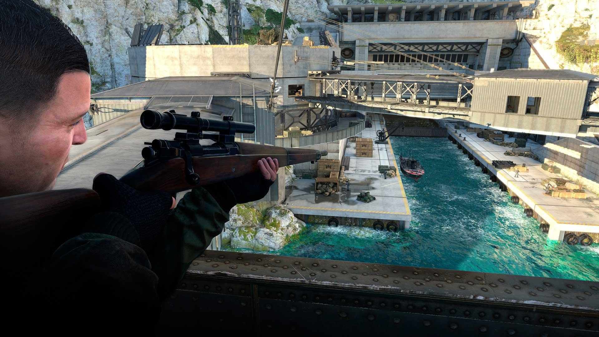 Análisis de Sniper Elite 4 3